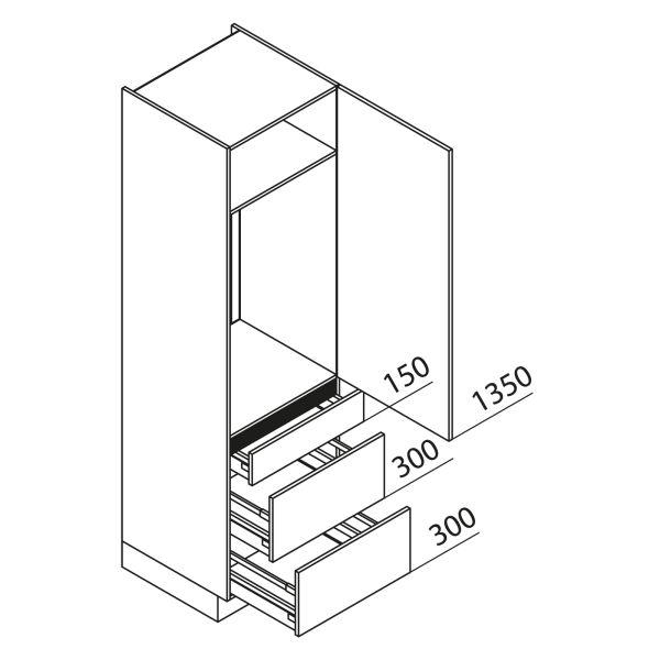 Nolte Küchen Hochschrank Geräteschrank GKAK210-103-09