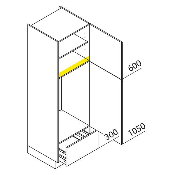 Nolte Küchen Hochschrank Geräteschrank GKA195-103