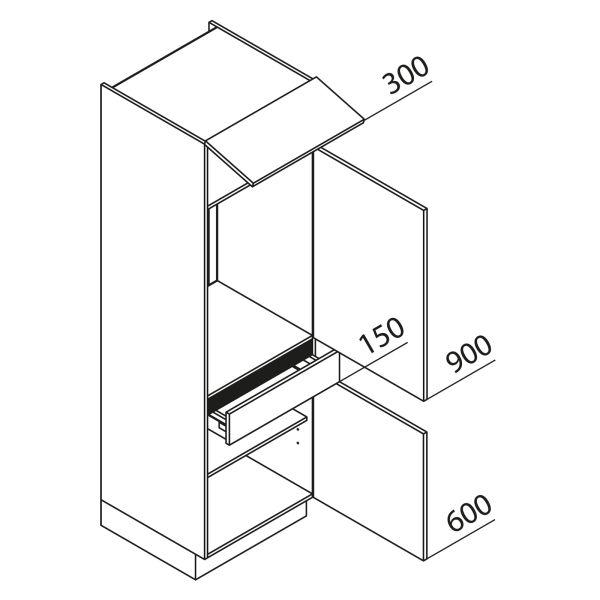Nolte Küchen Hochschrank Geräteschrank GKS195-88