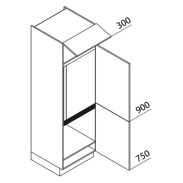 Nolte Küchen Hochschrank Geräteschrank GKG195-144