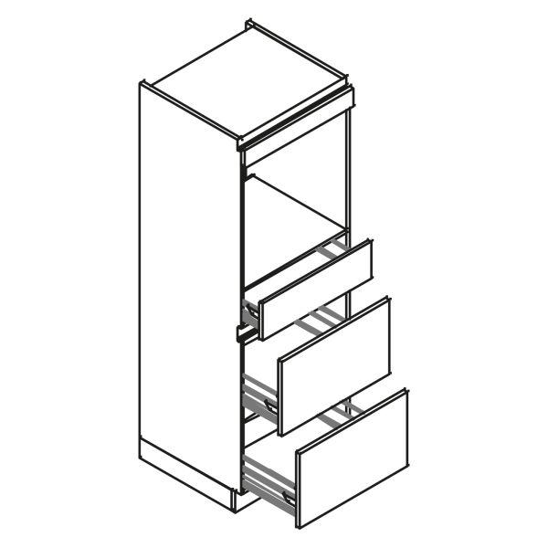 kitchenz k1 Geräteschrank AGO13-ESZ2