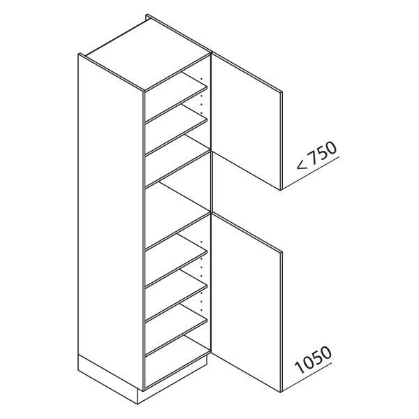 Nolte Küchen Hochschrank Geräteschrank GB225-4-01