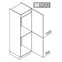 Nolte Küchen Hochschrank Geräteschrank GKK195-88-103