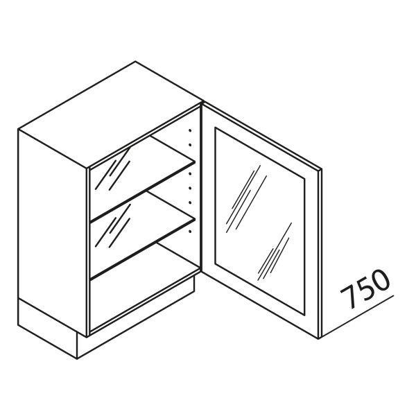 Nolte Küchen Unterschrank mit Glastür DE UDDDE45-75-39