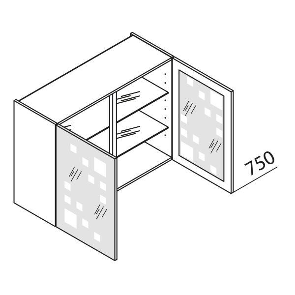 Nolte Küchen Hängeschrank mit Glastüren HVDM90-75