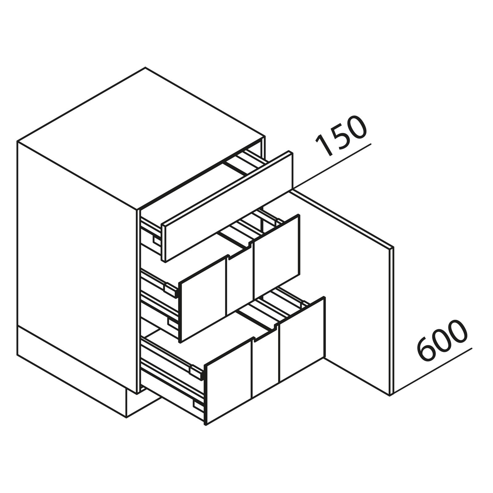 nolte k chen unterschrank ui45. Black Bedroom Furniture Sets. Home Design Ideas