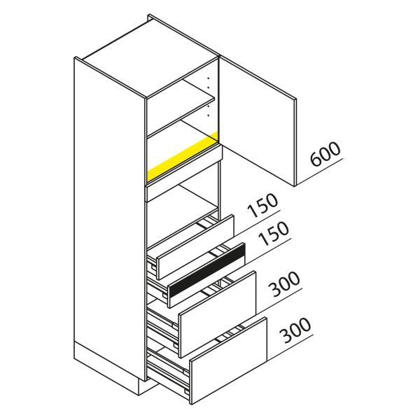 Nolte Küchen Hochschrank Geräteschrank GBAK195-1