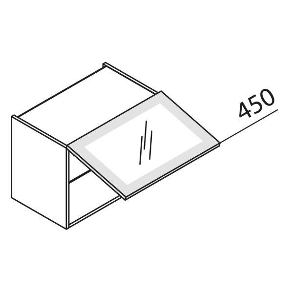 nolte k chen glas h ngeschrank hkds60 45 g nstig kaufen. Black Bedroom Furniture Sets. Home Design Ideas