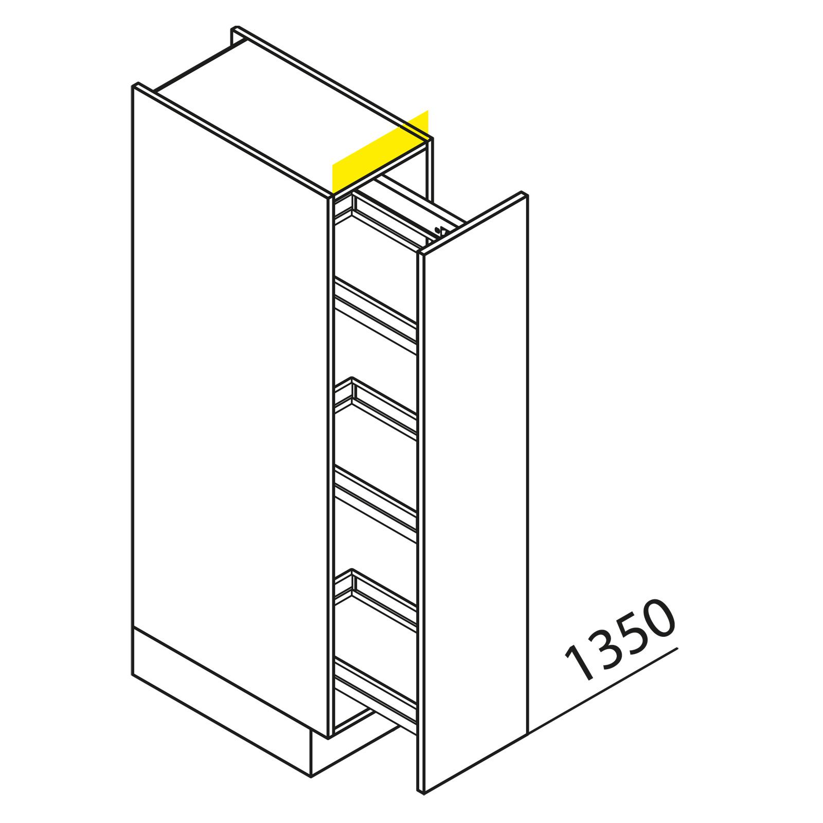 nolte k chen hochschrank vva40 135. Black Bedroom Furniture Sets. Home Design Ideas