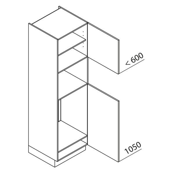 Nolte Küchen Hochschrank Geräteschrank GKB210-88-4-01