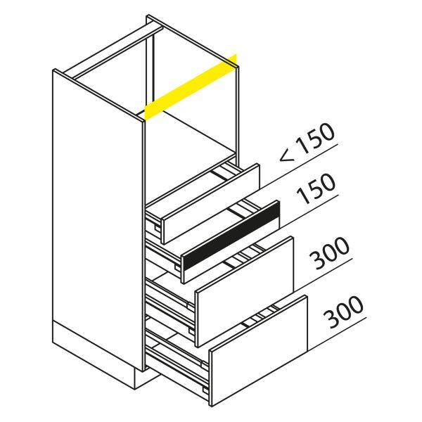 Nolte Küchen Hochschrank Geräteschrank GBAK135-4