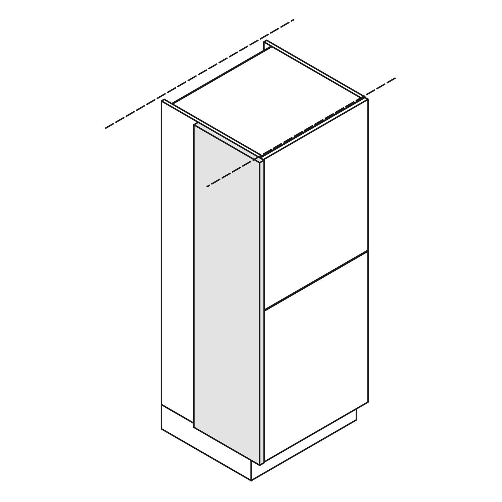 nolte k chen wange korpushoch w5 ze150 39. Black Bedroom Furniture Sets. Home Design Ideas