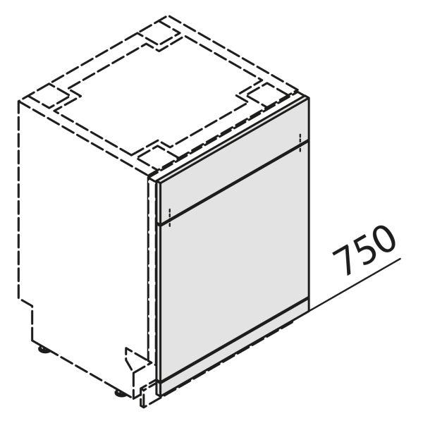 Nolte Küchen Front Geschirrspüler GSBS45-S7