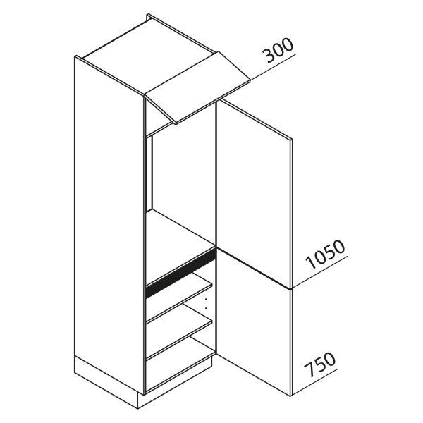 Nolte Küchen Hochschrank Geräteschrank GK210-103