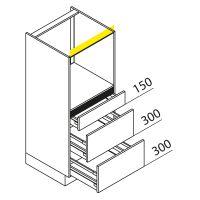 Hochschrank Geräteschrank Nolte Küchen GBAK135-3