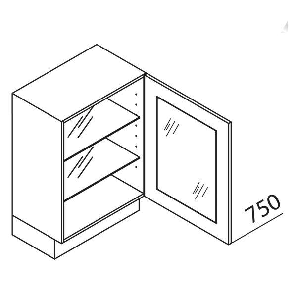 Nolte Küchen Unterschrank mit Glas UDDV60-75-39