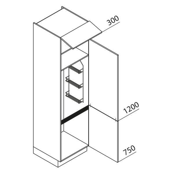 Nolte Küchen Hochschrank Besenschrank VB40-225