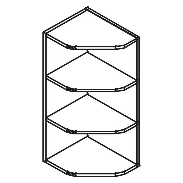 kitchenz k1 Diagonalregal HRO6-025