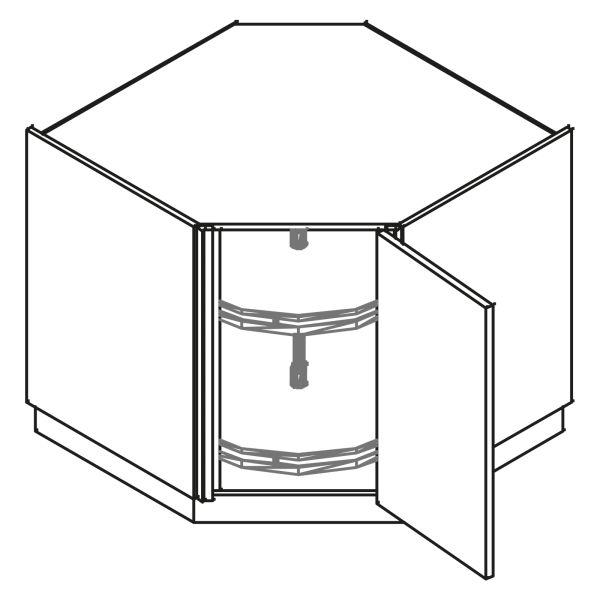 kitchenz k1 Eckschrank UED6-090DVC