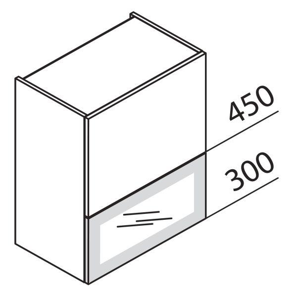 Nolte Küchen Hängeschrank Faltklappenschrank mit Glas HFKDPU80-75