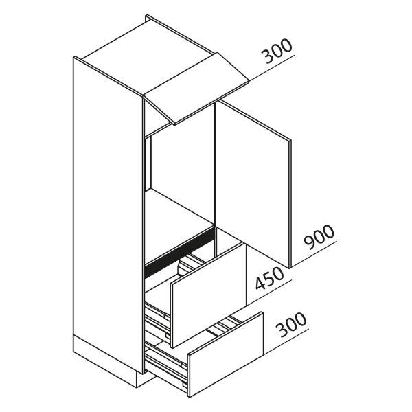 Nolte Küchen Hochschrank Geräteschrank GKAZ195-88