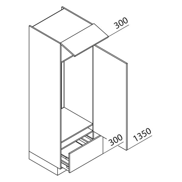 Nolte Küchen Hochschrank Geräteschrank GKA195-123