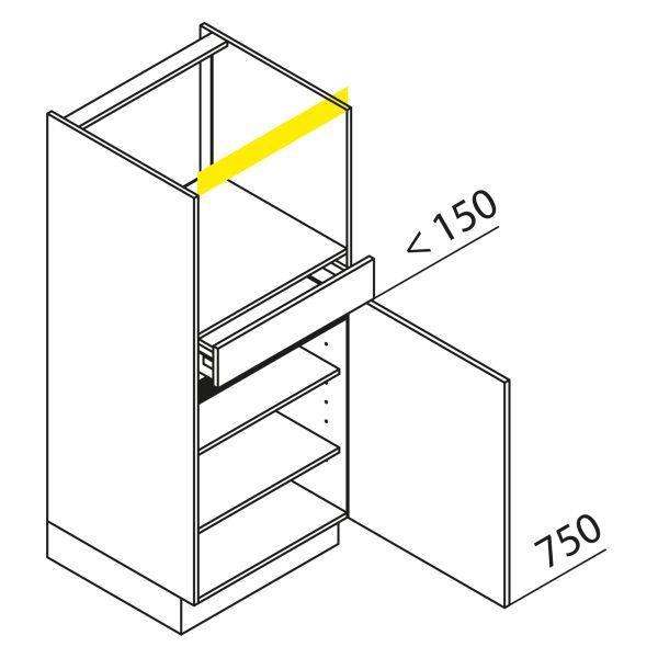 Nolte Küchen Hochschrank Geräteschrank GBS135-4