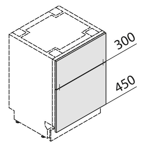 Türfront für Geschirrspüler GSBS60-UZ