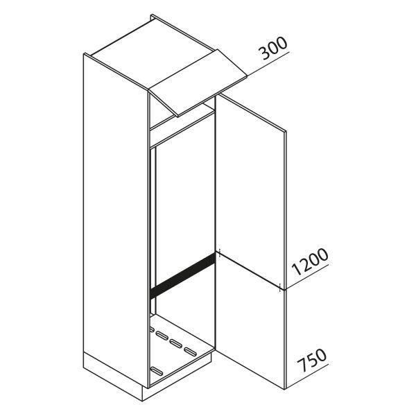 Nolte Küchen Hochschrank Geräteschrank GKU225-178