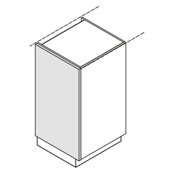 Nolte Küchen Hochschrank Wange Korpushöhe WA-ZE105-60