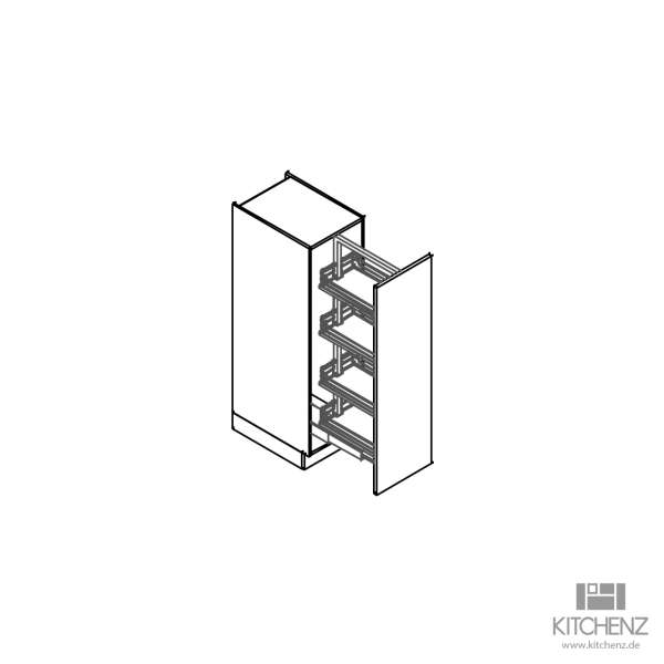 kitchenz k1 Apothekerschrank V10-030VTC