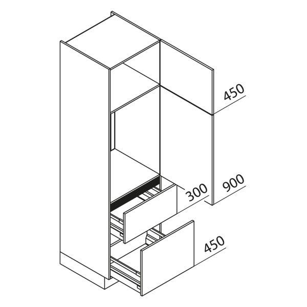 Nolte Küchen Hochschrank Geräteschrank GKZ210-88