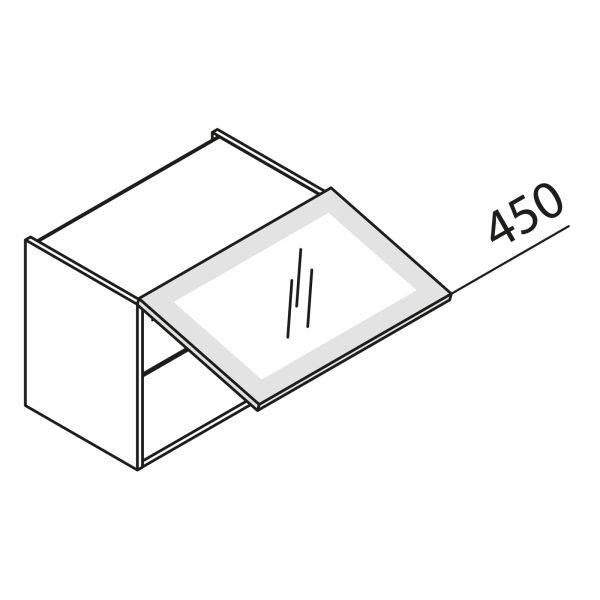 Nolte Küchen Hängeschrank mit Glas HKDF80-45