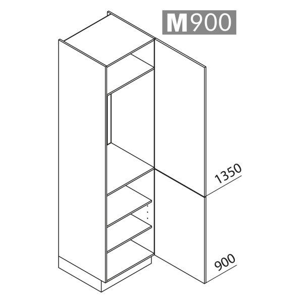 Nolte Küchen Hochschrank Geräteschrank GK225-103-01