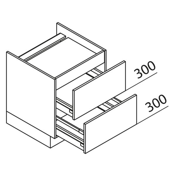Nolte Küchen Unterschrank Kochstellenschrank KAZ80-60-60
