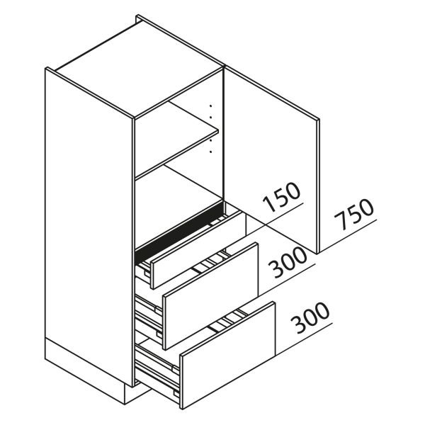 Nolte Küchen Hochschrank VAK45-150