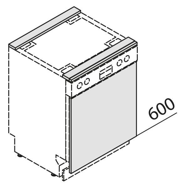 Türfront für Geschirrspüler GSB60-EST
