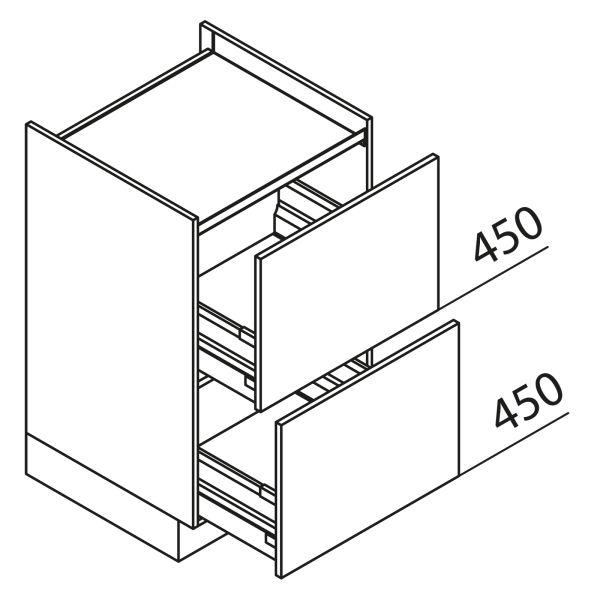Nolte Küchen Unterschrank Kochstellenschrank KUZ80-90-60-H2