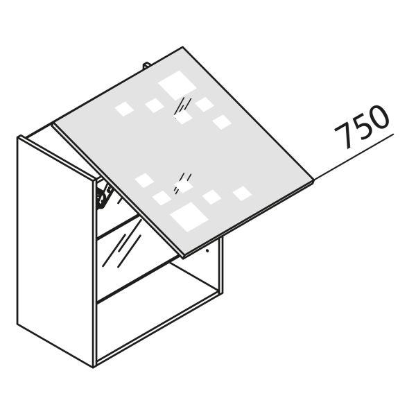 Schwebeklappenschrank mit Glas HLDM45-75