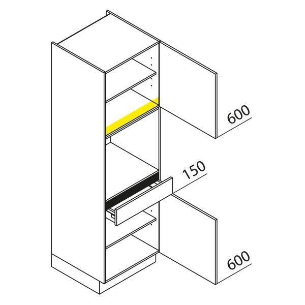 Nolte Küchen Hochschrank Geräteschrank GBS195-3