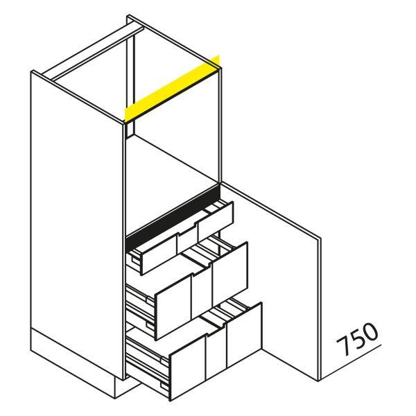 Nolte Küchen Hochschrank Geräteschrank GBI135-3