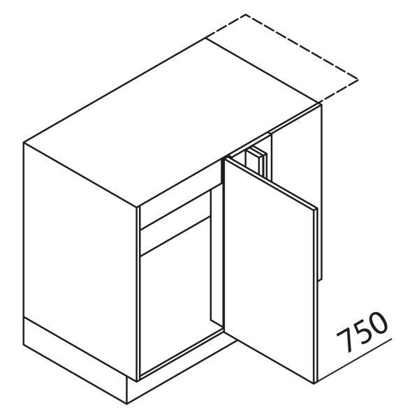Nolte Küchen Unterschrank Eckspülenschrank UESAD125-65MS