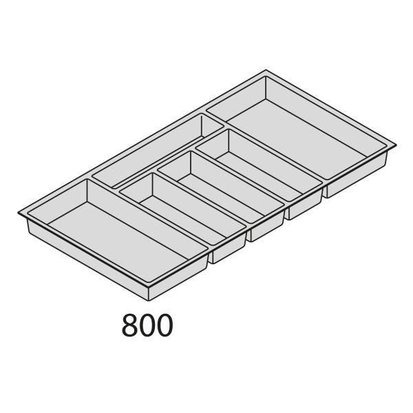 Besteckorganisation Kunststoff BEI80-50