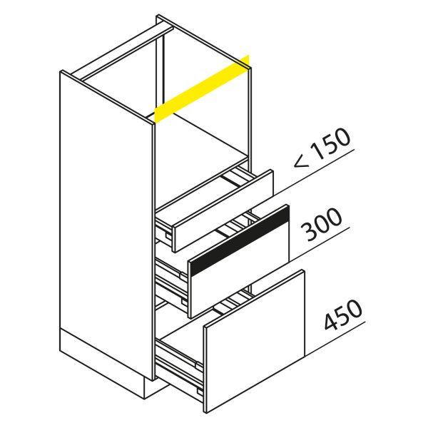 Nolte Küchen Hochschrank Geräteschrank GBZ135-4