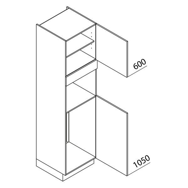 Nolte Küchen Hochschrank Geräteschrank GKB225-103-2