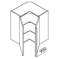 Nolte Küchen Hängeschrank Eckschrank HE90-90-R