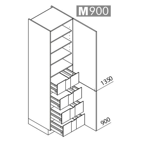 Nolte Küchen Hochschrank VI60-225-U9