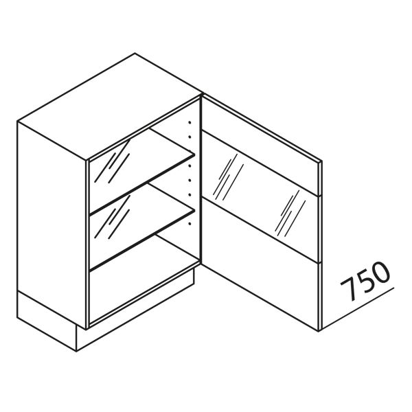 Nolte Küchen Unterschrank mit Glas UDDVQ50-75-39