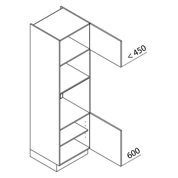 Nolte Küchen Hochschrank Geräteschrank GBB210-3-4