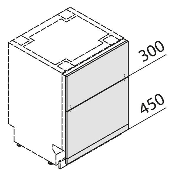 Türfront für Geschirrspüler GSBS60-S7-UZ